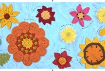 50 Sunflowers to Knit, Crochet and Felt / by Kristin Nicholas