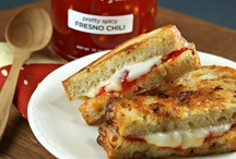 Grilled Cheese Inspiration / by Marsha Wilson
