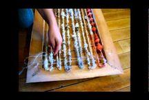 Fiber Arts: Weaving & Spinning / Spinning, Weaving, Roving, Wool, Spinning Fiber, Fiber / by Rachel Kluesner