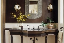 Bathroom vanity / by Lynda Lombard