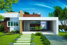 Fachadas para mi casa en la costa / by Vic Dix