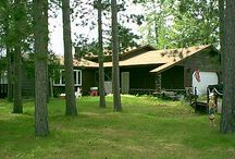 Lodging in St. Germain: Bed & Breakfasts / Back in the day, cabins were built from the ground they stood on -- with massive logs and beams, fieldstone fireplace, and boulder foundation. In St. Germain, you can still find such classically styled lodges in our broad selection of Private Homes, Cottages and Resorts. You'll also find plenty of options for basic, cozy retreats, or just a place to hang your hat. Rest assured, every accommodation in St. Germain includes friendly Northwoods hospitality -- free of charge. / by St. Germain Area Chamber of Commerce, Inc.