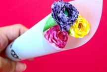 CRAFTS - FLOWERS / by Katherine Reilly