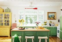 Kitchen ideas / by Mary @ At Home on the Bay