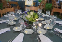 Wedding Table settings / by Janeen Nelson