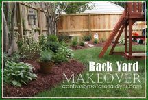 Backyard makeover / by Bonnie Twogood