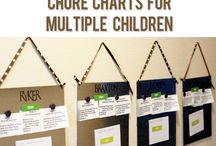 chore charts / by Elaine Bowling
