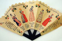 Vintage hand fans / by Jackie Haag