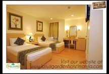 Lotus Garden Hotel Manila / Book now!!!  To avail our promo rates at http://www.lotusgardenhotelmanila.com  For inquiries call us at (+632) 522-1515 loc. 36 / by Lotus GardenHotel