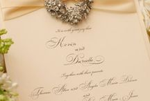 Wedding invitations / by Susana