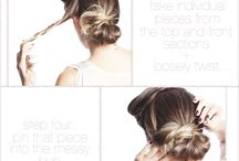 Hairstyles / by Jessica Madson