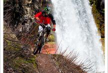 mountain biking / by Seth Weible