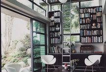 bookshelves  / by Melanie Blodgett