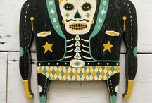 Dia De Los Muertos / http://en.wikipedia.org/wiki/Day_of_the_Dead / by Jen Witchfingurrsss