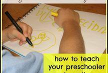 Preschool Homeschooling / by Alicia Fraser Stanley