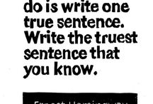 Writing / by Megan Hurley