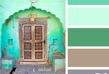 color palettes I love / by Meghan Cianci