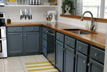 Home - Kitchen Ideas / by Heather McKanna