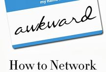 NETWORKING TIPS / Ways to Network While You're in College and beyond. / by Wartburg College Career & Vocation Services