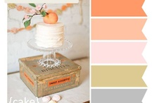 Peach Colors Weddings / The Wedding Loft  Full Service Bridal Boutique and Wedding Planning  www.jacksonvilleweddingloft.com / by The Wedding Loft Bridal Boutique and Wedding Planning