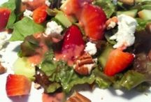 Salads :-) / by Shiloh Wolfe