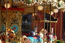 ❤️Love CAROUSELS  / Childhood memories, each birthday growing up I would go to the town of Groningen, Netherlands and ride on a carousel! Always a happy and fond time in my life! love my life❤️ / by Holland❤️