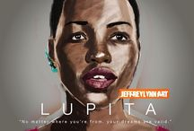 Lupita Nyong'o / A board entirely about Academy Award winner and all around beauty Lupita Nyong'o because lately I'm mildly obsessed. / by glamazini