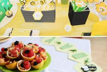 BaBEE Shower Theme / Inspiration for Bumble Bee Themed Baby Shower / by The Baby Shower Shop