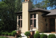 Bella Casa Residence, Lafayette, Indiana / Windsor Products Used: Pinnacle Clad Casement and Sliding Patio Doors.  www.windsorwindows.com / by Windsor Windows & Doors