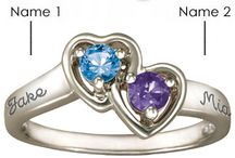 Promise Rings / Celebrate your love with gorgeous promise rings in sterling silver or gold.  Engrave your names or a special message. / by Joy Jewelers