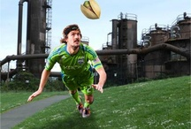 Where's Roger Levesque? / Guess where in Seattle soccer player Roger Levesque is for a chance at two free tickets to a Sounders FC game and a free case of pistachios! Enter here http://tinyurl.com/7o7glj3 / by Wonderful Pistachios