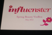 Influenster Spring Beauty VoxBox May 2012 / I received all these amazing products from Influenster to test.  / by L G