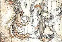 Zentangle/Doodles/Zendalas / by AJ's Designs