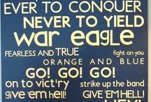war eagle! / I am a War Eagle chick! Love Auburn University and everything about Auburn. / by Paula Stokes