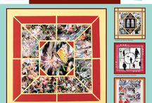 Quilt Stencil / This Board shows different Photo Collage layouts all using the Quilt Stencil as the design template. / by Lea France Scrapbooking (Photo Collage)