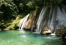 Reach Falls, Port Antonio, Jamaica / Reach Falls is the most natural and undeveloped large waterfall in Jamaica and is worth visiting! / by Great Huts