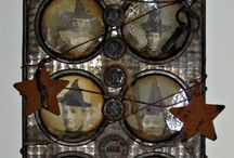 Altered Muffin Tin / by Lainie Takawe