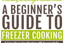 freezer cooking/ meals / by Heather Sullivan