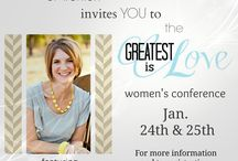 'GREATEST is Love' Women's Conference / by Jonna Ventura (Frayed Knot)
