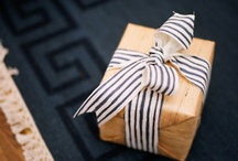 Bright Paper Packages Tied with.... / by Bree Brookes Robinson