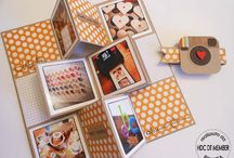 Papercrafting | Mini Albums / by Roxanne O'Brien