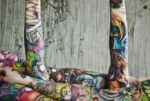 tattoos / by Stephanie Haynes