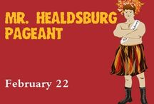 Mr. Healdsburg /  It's time for our yearly all-male parody of the event everyone loves to hate: the anachronistic beauty contest. Come watch local gentlemen vie for the (plastic) crown by competing in all the usual categories: beachwear, formalwear, talent, and interview. / by Raven Performing Arts Theater