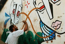Stephan Doitschinoff / Stephan Doitschinoff aka Calma / by Hookedblog Street Art