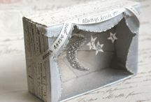 Cardboard Box vignette/ construction / by Jenny Skinner