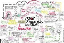 captures / whether you call it graphic recording, scribing, mind map, visualization, or even doodling, live colorful notes of talks are a great value add / by DJ Chuang