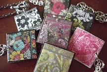 Wearable Crafts / Handmade Jewelry / Embellished T-Shirts  / by Leonardo Da Poochie