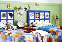 Bedrooms / by Bonnie