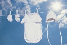 Baby Clothes Laundry Tips / Keeping baby's clothes clean is a tough job. Protecting sensitive skin, eliminating pesky stains, and thoroughly cleaning clothes for reuse are all important considerations. At Moxie Jean, we've put together some of our favorite tips on how to keep baby's clothes ultra clean.  / by Moxie Jean