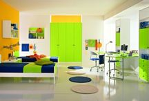 Boys Bedrooms / Cool, Rockin', Sweet, Awesome, Colorful Boy's Bedrooms! / by Online Coloring